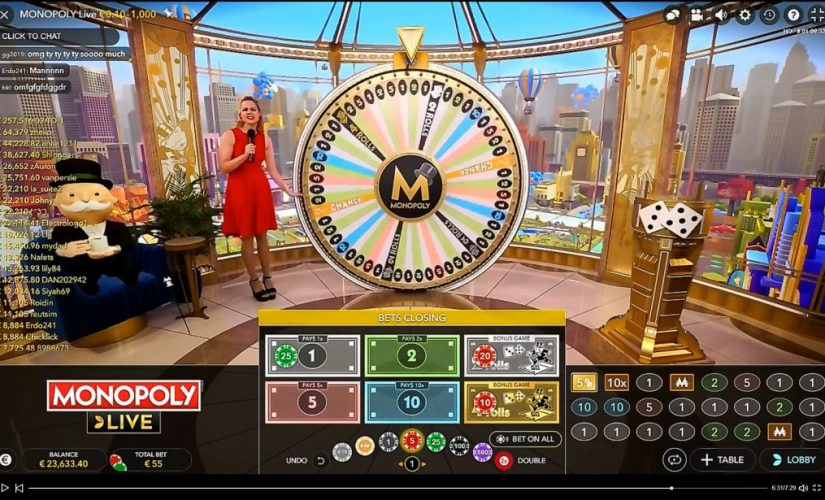 Live Casino Monopoly